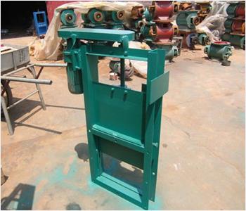 电动插板阀也叫电动螺旋闸阀,电动插板门,是一种闸板与阀座始终紧密接触密封的阀门,通常与卸料器配套使用.