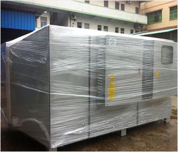 光氧催化废气处理设备的净化装置由初滤单元,-C波段紫外线装置,降解收集,臭氧发生器及过滤单元等设备和部件组成.